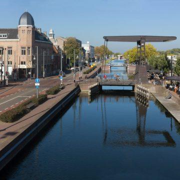 Uitzicht over kanaal in Helmond