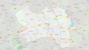 Kaart van Helmond